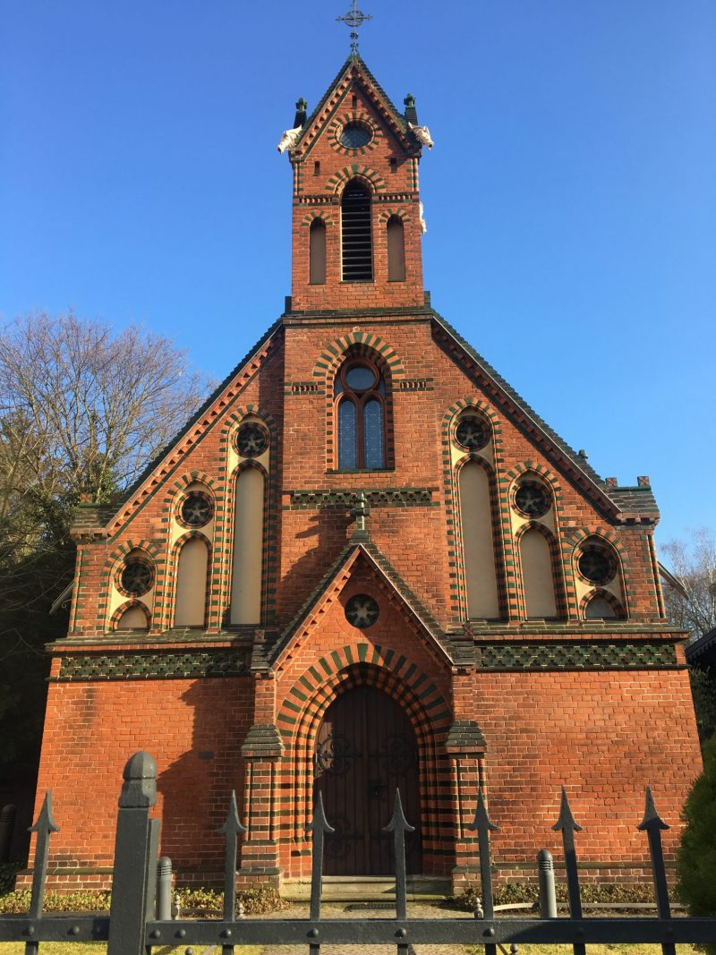 Klein Glinike Chapel, restored with private donations after the unification of Germany.