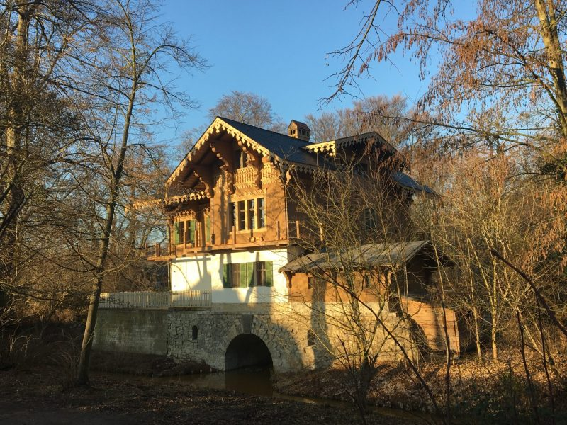 A Swiss house from the time of Carl of Prussia